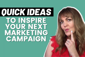 Ideas for your next marketing campaign