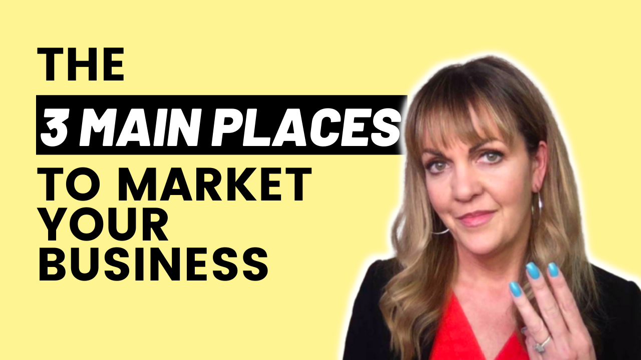 3 Places To Market Your Business