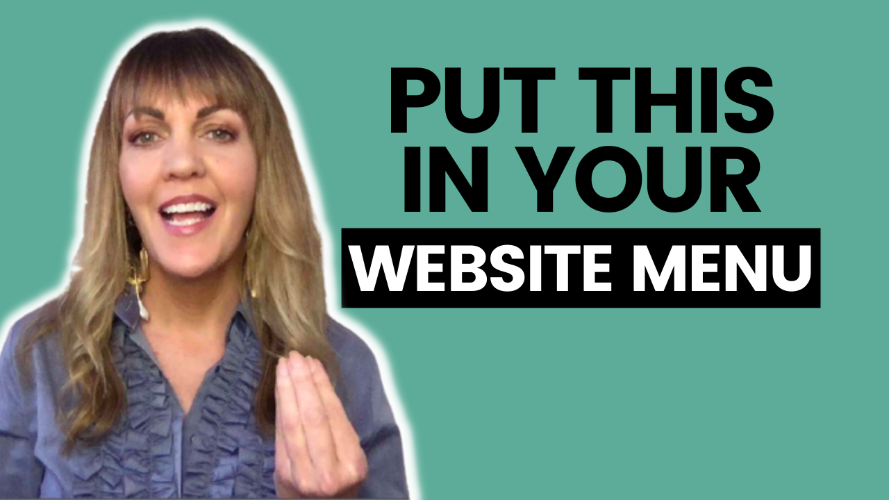 What To Put In Your Website Menu